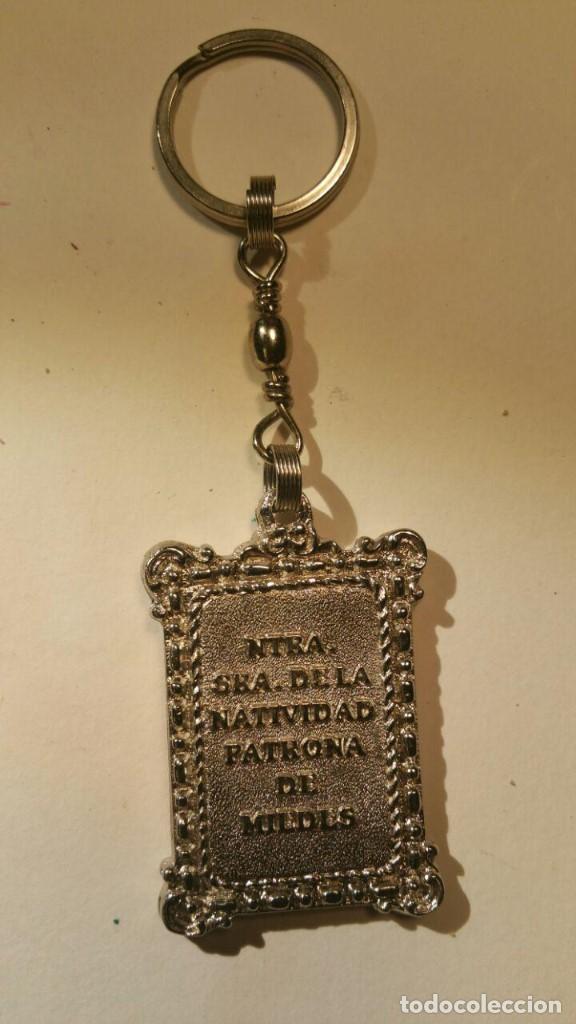 Coleccionismo de llaveros: LLAVERO NUESTRA SEÑORA DE LA NATIVIDAD PATRONA DE MIEDES - Foto 2 - 142720674