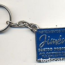 Coleccionismo de llaveros: LLAVERO PUBLICITARIO MESA DE MEZCLAS FOSTEX JIMENEZ SONIDO PROFESIONAL - AZUL - FOTO ADIC.. Lote 142797750