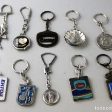 Coleccionismo de llaveros: LOTE DE 10 LLAVEROS.. Lote 143229406