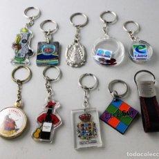 Coleccionismo de llaveros: LOTE DE 10 LLAVEROS.. Lote 143229454