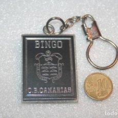 Coleccionismo de llaveros: BINGO CANARIAS *** LLAVERO COLECCION PRIVADA *** LIQUIDACION (TENGO OTROS MAS). Lote 143609306