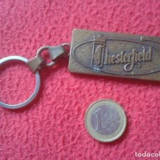 Coleccionismo de llaveros: LLAVERO KEYRING KEYCHAIN PORTE-CLÉS CHESTERFIELD TABACO TOBACCO TEXAS THE LONE STAR STATE USA VER FO. Lote 143790694