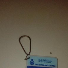 Collezionismo di Portachiavi: C-G8H7 LLAVERO ANTIGUO RETRO EL DE FOTO CAJA AHORROS CADIZ . Lote 143794946