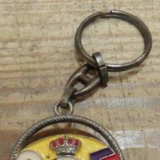 Coleccionismo de llaveros: ANTIGUO LLAVERO REAL MADRID. Lote 144498566