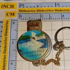 Collectionnisme de portes-clés: LLAVERO DE TURISMO. CORTAUÑAS DE LAS CATARATAS DEL NIAGARA. CANADA. Lote 144801878
