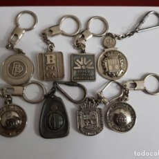 Coleccionismo de llaveros: LLAVEROS DE BANCOS/CAJAS (8). Lote 147895658