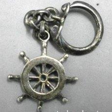 Coleccionismo de llaveros: LLAVERO DE METAL TIMON DE BARCO - LLAV-7910. B-132. Lote 148004754