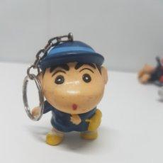 Coleccionismo de llaveros: LLAVERO SHIN CHAN CON MUÑECO DE GOMA DURA PVC. Lote 148248298