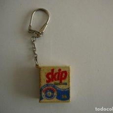 Coleccionismo de llaveros: LLAVERO DETERGENTE SKIP.. Lote 148488314