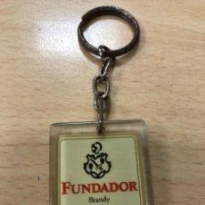 Coleccionismo de llaveros: LLAVERO ALCOHOL/BRANDY FUNDADOR. Lote 148491518