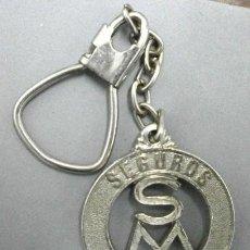 Coleccionismo de llaveros: LLAVERO DE METAL SEGUROS MARCHENA - LLAV-7981,2. B-134. Lote 148888658