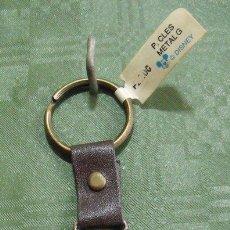Coleccionismo de llaveros: LLAVERO FIGURA METAL RATÓN MICKEY MOUSE LETRA G - DISNEY. Lote 148912910
