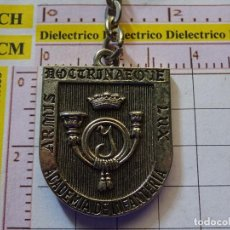 Coleccionismo de llaveros: LLAVERO MILITAR, ACADEMIA DE INFANTERÍA, ALCÁZAR DE TOLEDO. Lote 150695958