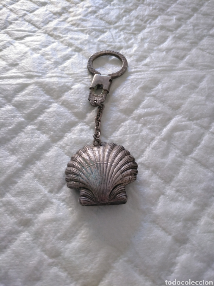 Coleccionismo de llaveros: llavero concha de mar religioso caballo - Foto 2 - 151584888