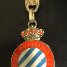 Coleccionismo de llaveros: LLAVERO REAL CLUB DEPORTIVO ESPAÑOL. Lote 152572057