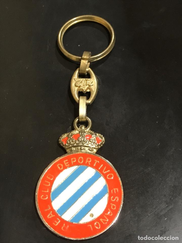 Coleccionismo de llaveros: LLAVERO REAL CLUB DEPORTIVO ESPAÑOL - Foto 3 - 152572057