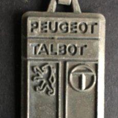 Coleccionismo de llaveros: LLAVERO METALICO DE LA MARCA PEUGEOT TALBOT. Lote 153047970