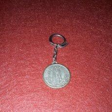 Coleccionismo de llaveros: LLAVERO VIRGEN DE LOURDES PUEDE SER PLAFA. Lote 153700545