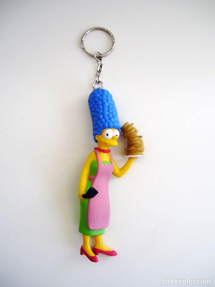 Coleccionismo de llaveros: Llavero Goma PVC Simpsons - Foto 2 - 153766714