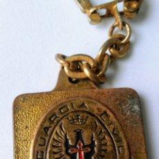 Coleccionismo de llaveros: LLAVERO GUARDIA CIVIL DE TRÁFICO. Lote 153816994