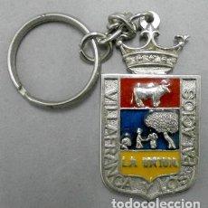 Coleccionismo de llaveros: LLAVERO DE METAL VILLAFRANCA Y LOS PALACIOS LA UNION DISCOTECA DECADA 80 - LLAV-8464. B-156. Lote 278205423