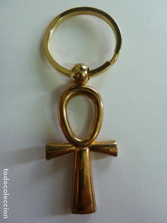 LLAVERO CRUZ EGIPCIA (8,5 CM DE LARGO) (Coleccionismo - Llaveros)