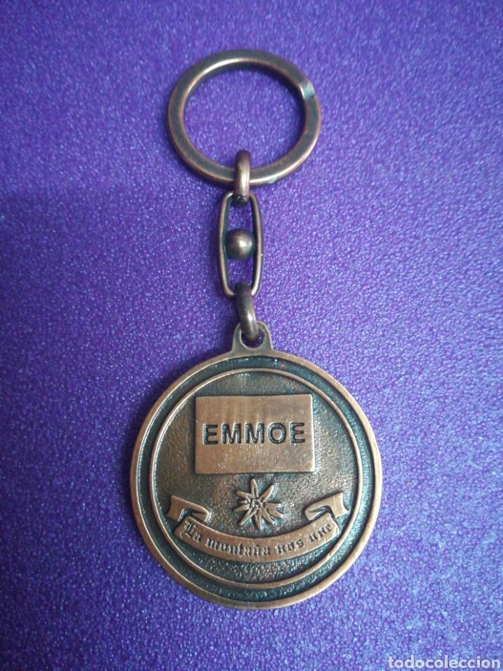 Coleccionismo de llaveros: Llavero EMMOE Candanchu Campeonatos militares de esquí - Foto 2 - 159323902