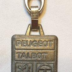 Coleccionismo de llaveros: LLAVERO PEUGEOT TALBOT. Lote 160710765