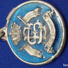 Coleccionismo de llaveros: LLAVERO MILITAR DEPOSITO DE SEMENTALES. Lote 160950054