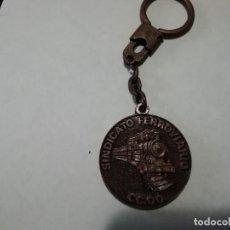 Coleccionismo de llaveros: LLAVERO SINDICATO FERROVIARIO CC.OO.. Lote 161586642