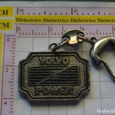 Coleccionismo de llaveros: LLAVERO DE COCHES MOTOS. CAMIONES CAMIÓN VOLVO POWER F10. Lote 161668258
