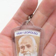 Coleccionismo de llaveros: LLAVERO VINTAGE DE FRAY LEOPOLDO, LLAVERO RELIGIOSO, LLAVERO CATÓLICO, LLAVERO METACRILATO. Lote 162775974