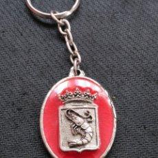 Coleccionismo de llaveros: LLAVERO RESTAURANTE EL REY DE LA GAMBA BARCELONA. Lote 162779165