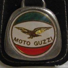 Coleccionismo de llaveros: LLAVERO MOTO GUZZI AÑOS 70 /80 . Lote 163668594