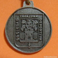 Coleccionismo de llaveros: LLAVERO TARAZONA SOCIEDAD DEPORTIVA BAR VISCONTI - VER FOTOGRAFIAS ADICIONALES - AÑOS 70 /80. Lote 164771134