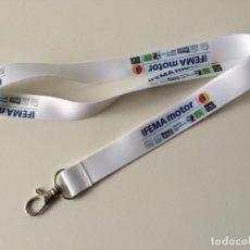 Coleccionismo de llaveros: LANYARD IFEMA MOTOR - CINTA COLGANTE // L2 // DISPONIBLE:2. Lote 165012082