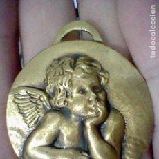Coleccionismo de llaveros: ANGELITO PENSADOR LLAVERO METAL TONO BRONCE . Lote 165662522