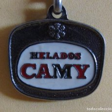 Coleccionismo de llaveros: LLAVERO HELADOS CAMY MUY NUEVO AÑOS 70 / 80. Lote 166338482