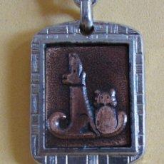Coleccionismo de llaveros: LLAVERO DE COBRE PROCEDE DE MUESTRARIO VER IMAGENES MUY NUEVO AÑOS 70 / 80. Lote 166474514