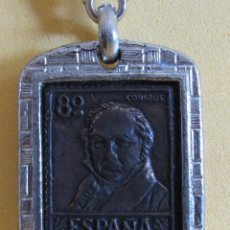Coleccionismo de llaveros: LLAVERO DE COBRE PROCEDE DE MUESTRARIO VER IMAGENES MUY NUEVO AÑOS 70 / 80. Lote 166474578