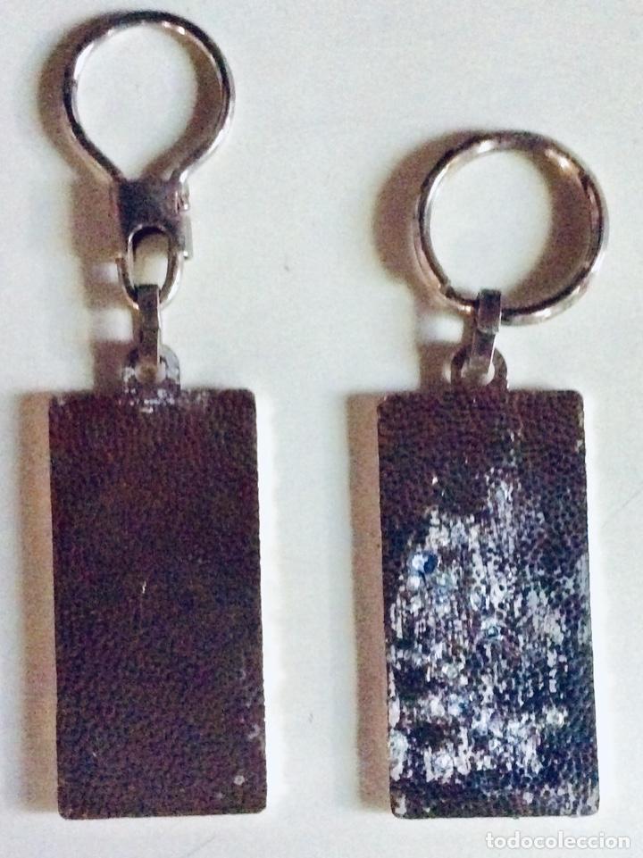 Coleccionismo de llaveros: 5 llaveros de metal con foto de MIKE JAGGER Y ROD STEWAR 11.5 x 3cm c.uno. Muy raros mirar fotos - Foto 3 - 166596598