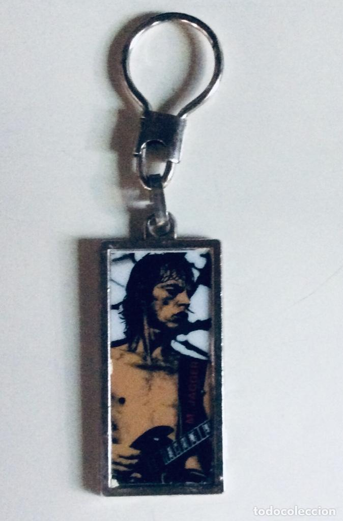 Coleccionismo de llaveros: 5 llaveros de metal con foto de MIKE JAGGER Y ROD STEWAR 11.5 x 3cm c.uno. Muy raros mirar fotos - Foto 17 - 166596598