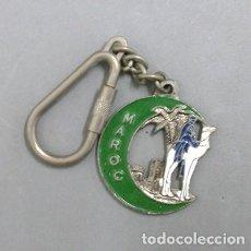 Coleccionismo de llaveros: LLAVERO DE METAL SOUVENIR MAROC - LLAV-8921 - B-176. Lote 195195293