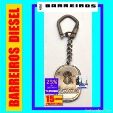 Coleccionismo de llaveros: CAMIONES BARREIROS / BARREIROS DIESEL / EDUARDO BARREIROS - LLAVERO CROMADO AÑOS 60 - 15 EUROS FINAL. Lote 167482516