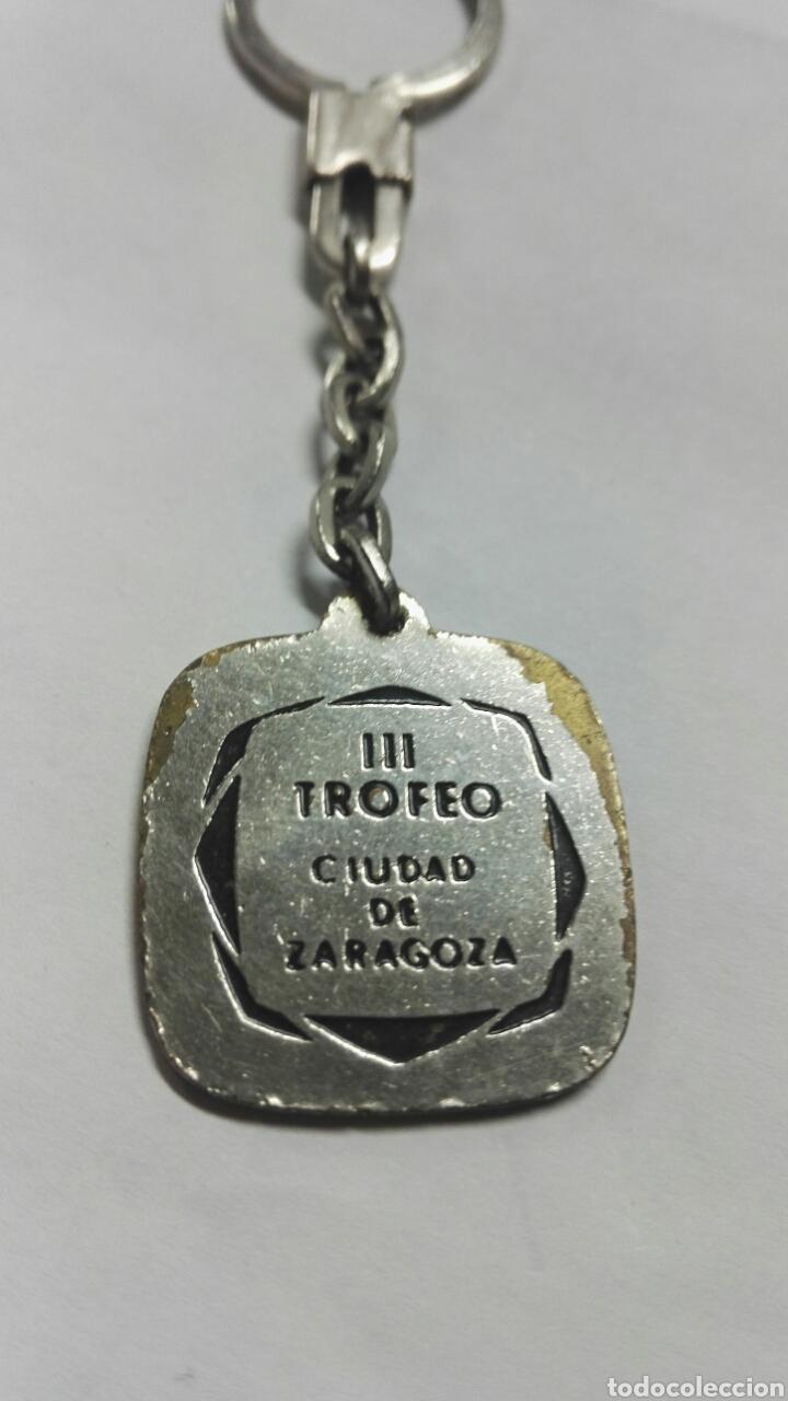 Coleccionismo de llaveros: Llavero III trofeo ciudad de zaragoza - Foto 2 - 167862050