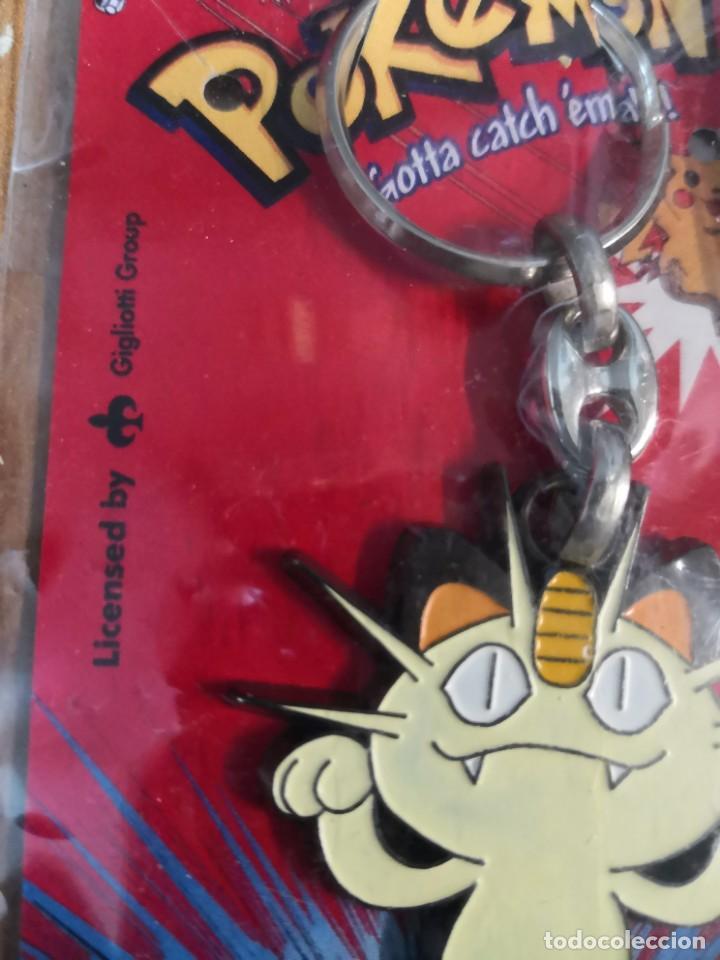 Coleccionismo de llaveros: Pack pokemon coleccionable, colgante más Llavero nintedo gato pokemon Meowth Rocket - Foto 3 - 181156956