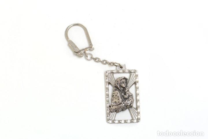 Coleccionismo de llaveros: Llavero religioso, medalla llavero, medalla católica, virgen, llavero religioso, llavero católico - Foto 3 - 170079948