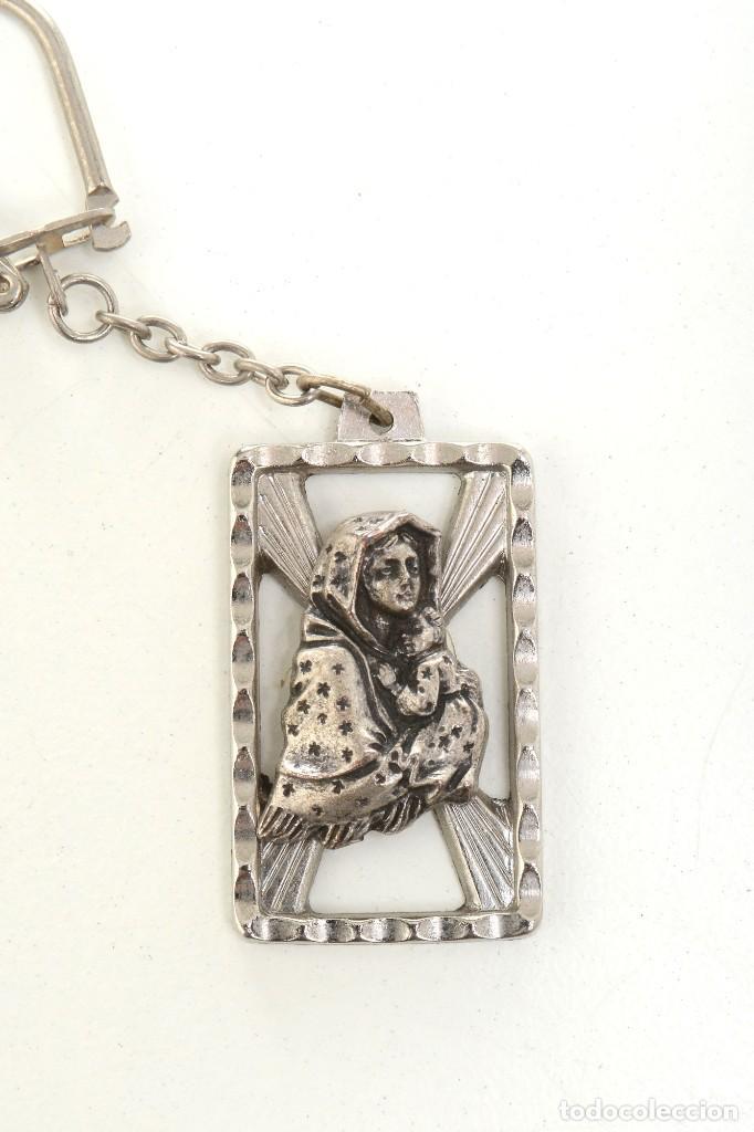Coleccionismo de llaveros: Llavero religioso, medalla llavero, medalla católica, virgen, llavero religioso, llavero católico - Foto 4 - 170079948