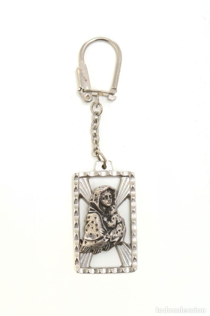 Coleccionismo de llaveros: Llavero religioso, medalla llavero, medalla católica, virgen, llavero religioso, llavero católico - Foto 5 - 170079948