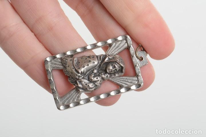 Coleccionismo de llaveros: Llavero religioso, medalla llavero, medalla católica, virgen, llavero religioso, llavero católico - Foto 6 - 170079948